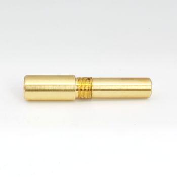 M13x0.8 triple lead threaded mandrel for kitless pen making